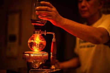 サイフォン式コーヒー