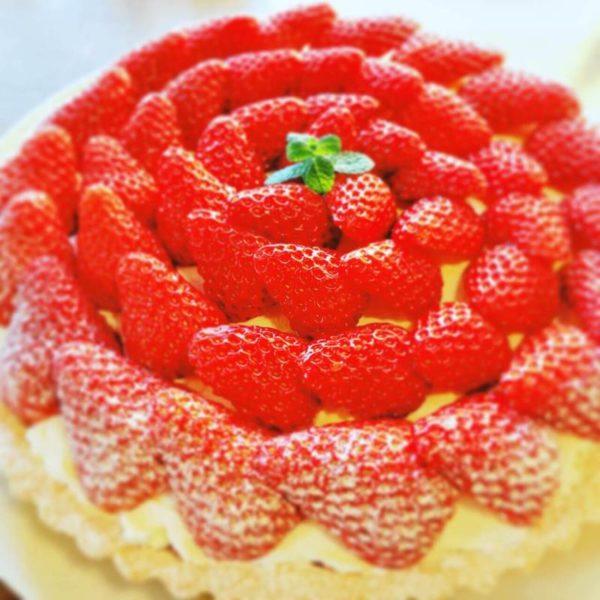 カフェアジュールのケーキ